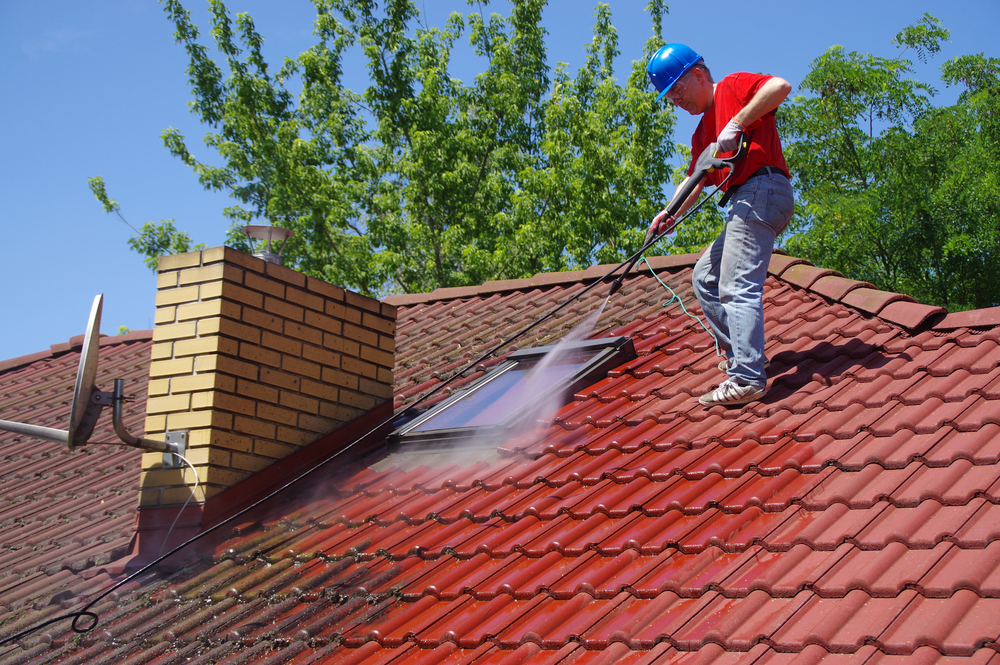 best time to clean roof