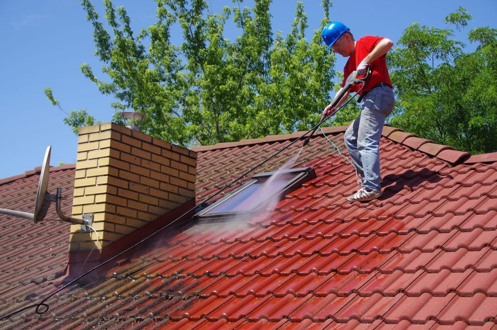 Improper Roof Cleaning
